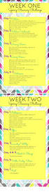 2 week spring cleaning challenge nourishing joy