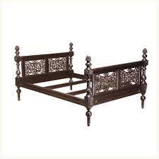 Royal Bed Frame Derozio Royal Bed Anglo Indian Bedroom Bed Teak Carved