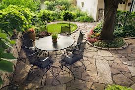patio exles natural stone patio hardscape projects berks reading pa
