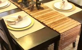 diy wood shim table runner for under 8 hometalk