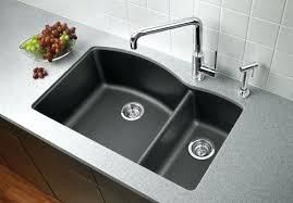 black undermount kitchen sink granite kitchen sinks black granite kitchen sink photo 1 pegasus