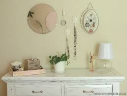 Decorating Dresser Top by Diy Pink Distressed Dresser Room 4 Interiors