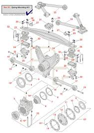 volvo truck parts diagram volvo t ride rear schematic standard spring