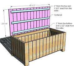 Toy Bench Cushion Childrens Storage Bench Seat Big Toy Box Espresso Finish B