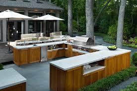 cuisine outdoor amenager cour extérieure recherche cuisine d extérieur