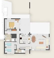 smart floor plans smart villas in chania crete for vacation floor plans villa dimitra