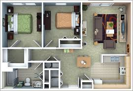 Two Bedroom Apartments Floor Plans Richmond Apartments Floor Plans