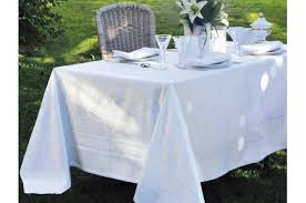 Banquet Table Linen - beauregard tablecloth by garnier thiebaut luxury french table linens