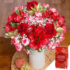 happy christmas gift happy christmas flowers gift uk bunches co uk