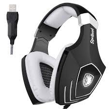 amazon com sades a60s omg pc wired usb stereo gaming headset