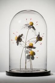 geoffroy mottart i create animal sculptures from resin inspired by miyazaki