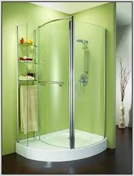 icon of corner shower units for small bathroom solving space