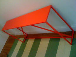 Orange Console Table Strutin U0027 Around Kate Collins Interiors