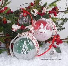 christams decoration balls using fillable acrylic balls
