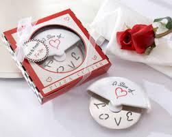 bridal favors mini pizza cutter party favor by kate aspen