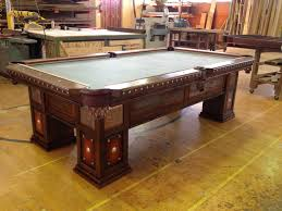reclaimed wood game table reclaimed barnwood pool table by western heritage furniture leather