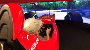 Maranello Italy by Florian F1 Simulator At Ferrari Factory Maranello Italy Youtube