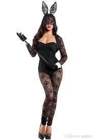 bunny costume sleeves lace bunny costume 2017 bodysuit party