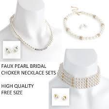 bridesmaid jewellery vintage pearl bridesmaid jewellery set wedding necklace