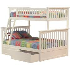 Columbia Bunk Bed Atlantic Furniture Columbia Bunk Bed In White Ab55202