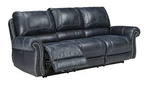navy blue reclining sofa navy blue recliner living leather recliner sofa set with reclining