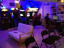 arcade basement gaming and video game rooms pinterest arcade