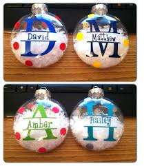 personalized christmas ornaments personalized christmas ball