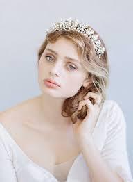 bridal tiara bridal tiara fern charm and navette tiara crown style