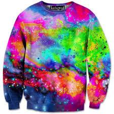 galaxy sweater neon galaxy sweatshirt