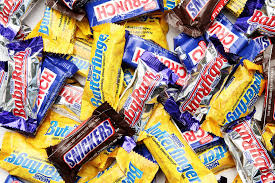 calories in your favorite fun size halloween candies