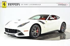 Ferrari F12 2016 - used 2016 ferrari f12 berlinetta for sale fort lauderdale fl