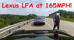 lexus lfa 12 brand new lexus lfa clears it u0027s throat and gets busted youtube