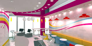 interior design of yogurt shops commercial interior design news