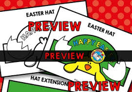 craft easter hat templates holiday crafts hatching easter