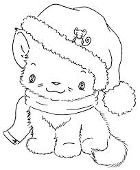 christmas kitten imagenes digi stamps stamps