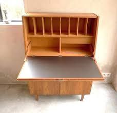 bureau secr aire meuble bureau secretaire vintage meuble secretaire vintage joli bureau