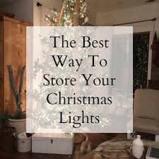 how to store christmas lights the best way to store your christmas tree lights twelve on main