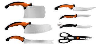 couteaux professionnels de cuisine set de 9 couteaux de cuisine ergonomiques 29 99