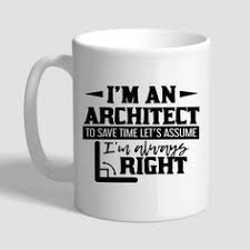 architect mug architect gift coffee mug architects
