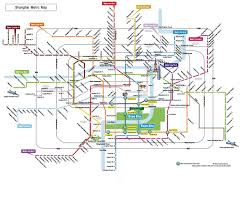 Shenzhen Metro Map by Of Shanghai Metro