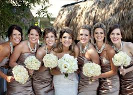 bridesmaid statement necklaces chunky pearl statement necklaces for bridesmaids wedding