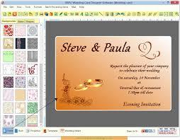 invitation design programs wedding invitation programs free wedding card maker software