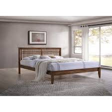 Mid Century Platform Bed Contemporary Wood Platform Bed By Baxton Studio Free Shipping