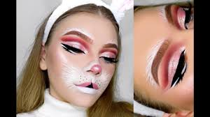 bunny halloween makeup tutorial tutorialsbytina youtube