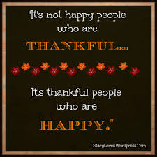 visual quote thankful are happy
