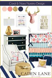 Navy And Coral Crib Bedding Nursery Beddings Navy Baby Bedding Sets Also Coral Crib Bedding