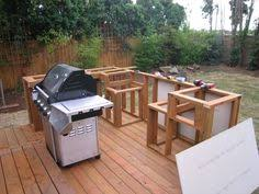 diy outdoor kitchen ideas what this with no experience built on his patio made me so