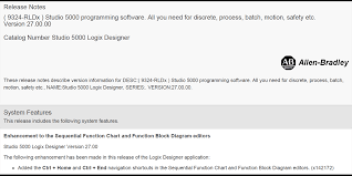 studio 5000 logix designer version 27 released u2013 the automation blog