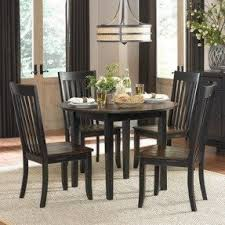 Black Round Dining Room Table by Round Dining Room Sets With Leaf Foter