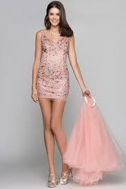 dress with detachable skirt